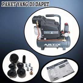 ARTIX Mesin Compressor DA0709 3/4Hp 9 liter - Kompressor Angin Listrik