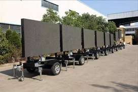 LED SMD Outdoor Screens Pole Screens