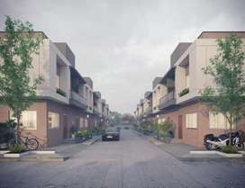 2 bhk luxurious row house
