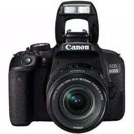 Canon EOS 800D WIFI 18-55mm Cash & Kredit