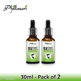 Beard shiner and Growth Essential Oil Parabeen & Sulphate Free pack