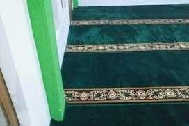Karpet masjid Roll dan meteran siap kirim Indramayu