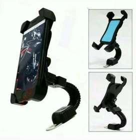 Holder Sepeda Motor Handphone GPS Spion Sekrup Model X