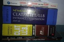CLAT  preparation books