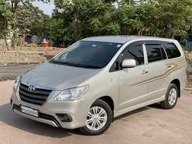 Toyota Innova 2.5 GX (Diesel) 8 Seater BS IV, 2015, Diesel