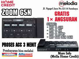 Promo Kredit Zoom G5 Syarat KTP+SIM di Melodia Musik Surabaya