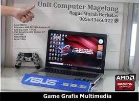 ASUS X 550Z AMD FX 7500 (10 Computer Core) Gaming-Grafis Multimedia