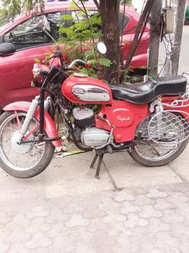 Yahmaha rajdoot bike