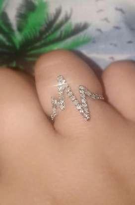 Cincin berlian emas 70%