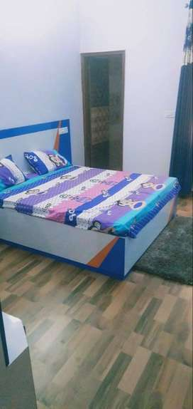 2Bhk flat fully furnished at lowest price sale Kharar Landra Highway