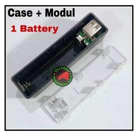 Power bank case modul 1 battery