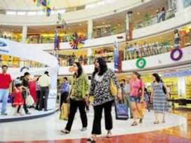 Job vacancies in shopping mall for freshers candidates