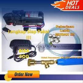 Dinamo Pompa Air DC 12 V– Steam Motor Mobil AC- Sprayer Water Pump