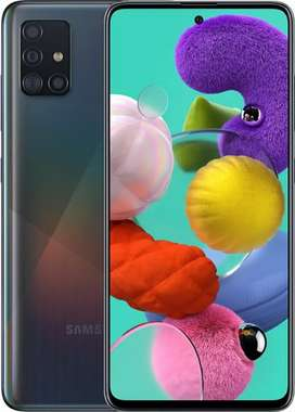 Samsung Galaxy a51 new for exchange with iPhone 7 and iPhone 8