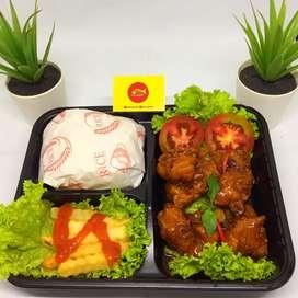 Nasi catering | nasi box | nasi kotak | snack box | ricebowl