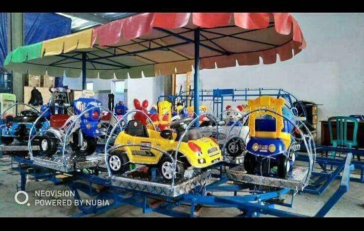 odong kereta panggung mobil mainan kuda animal ride DCN 0