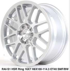jul velg RAI-S1 HSR R16X7 H8X100-114,3 ET40 SMF