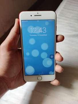 Iphone 7plus 128 GB Red eddition