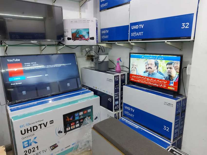 you're welcome 26 Samsung UHD Led