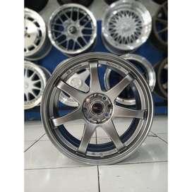 Velg Mobil Avanza, Yaris dll Type GTR SPORT R17 HSR Wheel Hyper Black