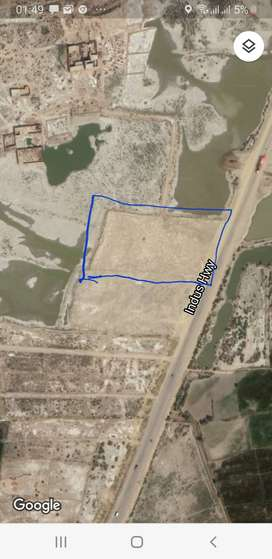 Commericial land for sale best for pertrol pump or constuctios
