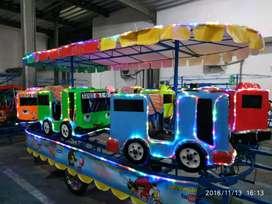 BARU mainan anak kereta mini panggung odong odong komplit flashdisk 11