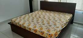 DURIAN king size double bed with mattress