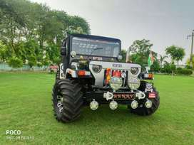 Modified open Jeep Wrangler Thar desert jeeps