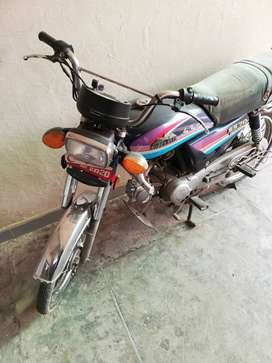Motorcycle 70 cc superstar