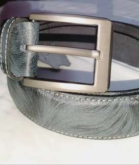 Leather Belt and leather voilet
