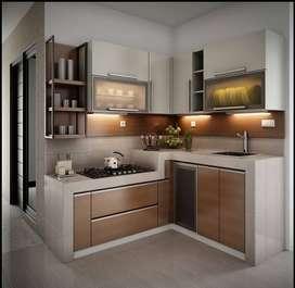 RF 32 real pabrik kitchenset mini bar minimalis fullspek teruji