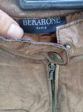 Jaket BEKARONE Paris France kulit halus original