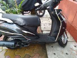 Hero Destiny 125 CC with Delhi no, purchased at october in 2018.