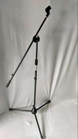stand microphone lebih kokoh lengkap holder bnew model
