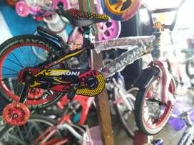 Sepeda Anak Cowo Ukuran 16 Sakoni