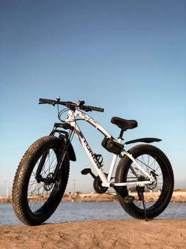 STURDY 21 SHIMANO TZ GEARS FAT TYRE CYCLE AVAILABLE NEW