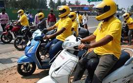 part time bike riders in banglore