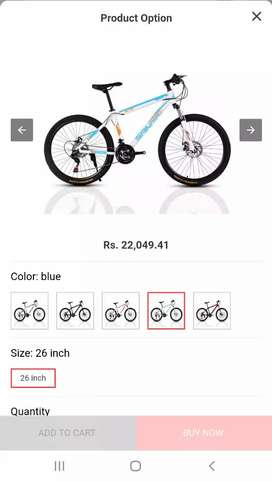 New AOXIN Sangpu Bicycle-2019 Model.