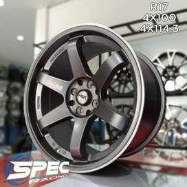 Jual Velg Mobil Mazda2 Racing R17 HSR Di Toko Velg & Ban Mobil Medan
