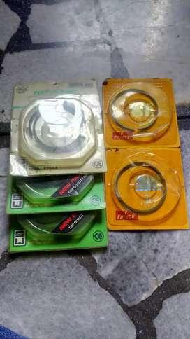 Piston paket dan ring motor campur dijual
