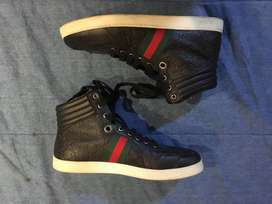 Gucci High Top Sneaker Shoes (UK Size 10)