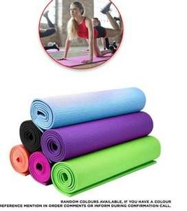 Classic Yoga and Fitness Mat - 7mm - Multicolor