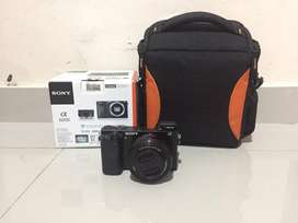 Sony A6000 Mirrorless Like New SC baru 2400san