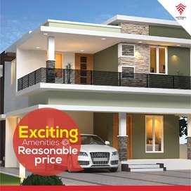 4 BHK Villa In Fully Greenish Environment @ Ottapalam||56 lakhs Onwads