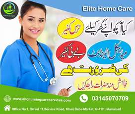 Requried Male or Female Nurse in Islamabad
