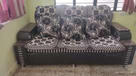 Sofa 3+2 with pillows & cover