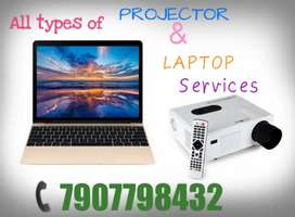 PROJECTOR AND LAPTOP SERVICES