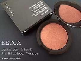 Becca blushed cooper blush pressed powder
