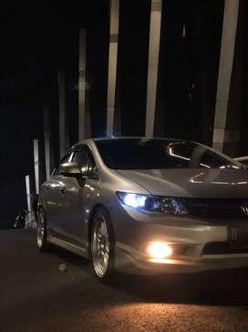 Honda Civic FB 2013 Silver Metallic Modif