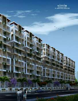 3bedroom flat with luxurious amenities in Gated Society with prelaunch